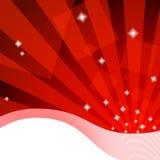 Fundo vermelho excelente ilustração royalty free