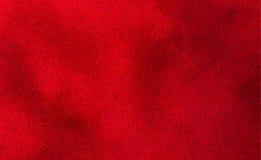 Fundo vermelho grosso luxuoso de veludo Imagens de Stock Royalty Free