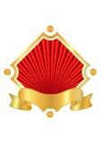 Fundo vermelho para a indústria do alimento e da bebida Fotografia de Stock Royalty Free