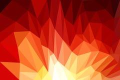 Fundo vermelho, projeto, Web, sumário, baixo poli Foto de Stock Royalty Free
