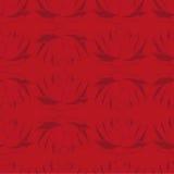 Fundo vermelho sem emenda com lótus escuros Teste padrão sem emenda Fotografia de Stock Royalty Free