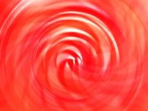 Fundo vermelho vívido abstrato do borrão de movimento do redemoinho Fotos de Stock