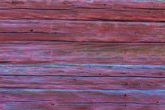 Fundo vermelho velho do log Fotografia de Stock Royalty Free