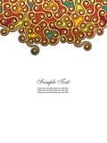 Fundo vertical abstrato Imagens de Stock Royalty Free
