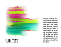 Fundo-vetor Efeito-abstrato da tinta Foto de Stock