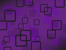 Fundo violeta Fotografia de Stock