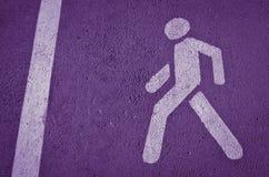 Fundo violeta Foto de Stock Royalty Free