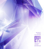 Fundo violeta abstrato Imagens de Stock Royalty Free