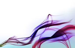 Fundo violeta abstrato com fumo ilustração royalty free