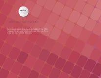 Fundo violeta abstrato do mosaico Imagens de Stock Royalty Free