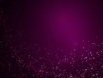 Fundo violeta 014 do fluxo do brilho Imagens de Stock Royalty Free