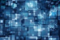 Fundo virtual do espaço da tecnologia Imagens de Stock