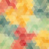 Fundo wattled angular colorido do teste padrão ilustração royalty free