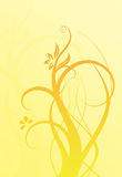 Fundo Yellow-orange ilustração stock