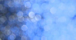 Fundos abstratos borrados do bokeh da definição luzes altas video estoque