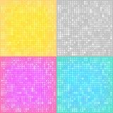 Fundos abstratos com os círculos Fotos de Stock