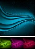 Fundos abstratos da Aurora. Fotografia de Stock Royalty Free