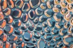 Fundos abstratos da superfície do relevo do metal Imagens de Stock