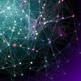 Fundos abstratos de uma comunicação. Imagens de Stock