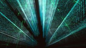 Fundos abstratos do Cyberspace ilustração do vetor