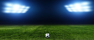 Fundos abstratos do futebol ou do futebol Fotos de Stock