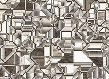 Fundos abstratos futuristas textura lisa digital ilustração stock