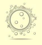 Fundos abstratos para a pesquisa científica Imagens de Stock Royalty Free