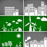 Fundos & elementos da ecologia Fotografia de Stock
