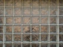 Fundos - blocos de vidro sujos imagens de stock royalty free