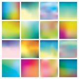 Fundos borrados coloridos abstratos Foto de Stock