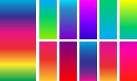 Fundos coloridos brilhantes do arco-íris Imagens de Stock