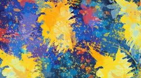 Fundos coloridos, contextos artísticos criados digitalmente, Foto de Stock Royalty Free