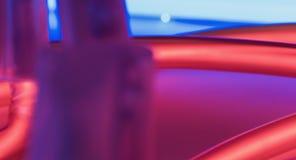 Fundos criativos vermelhos de incandescência das luzes de néon Imagem de Stock Royalty Free