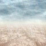 Fundos da tempestade da chuva no tempo nebuloso Imagem de Stock