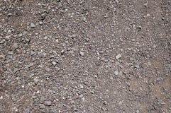 Fundos da textura das superfícies de estrada do cascalho, textura 6 Fotos de Stock Royalty Free