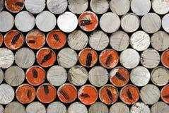Fundos de alumínio Fotografia de Stock Royalty Free