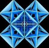 Fundos decorativos abstratos dos testes padrões ilustração 3D Fotografia de Stock