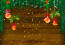 Fundos do Natal ilustração do vetor