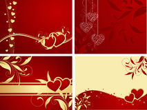 Fundos do Valentim Foto de Stock Royalty Free