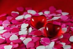 Fundos dos corações Imagem de Stock Royalty Free