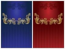 Fundos elegantes do projeto Ilustração Royalty Free