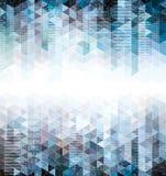 Fundos geométricos abstratos. Imagens de Stock Royalty Free