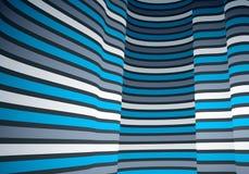 Fundos geométricos com 3D linhas paralelas mínimas ilustração do sumário do vetor, elemento fresco do projeto dimensional, estilo ilustração royalty free