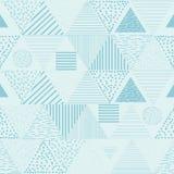 Fundos geométricos tribais Papel de parede abstrato moderno Ilustração do vetor Fotos de Stock