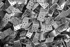 Fundos metálicos Foto de Stock