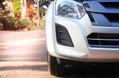 Fundos novos dianteiros do outono do carro Imagem de Stock Royalty Free