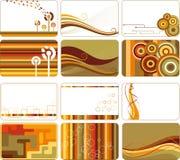Fundos retros abstratos Imagens de Stock Royalty Free
