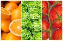 Fundos saudáveis do alimento fotos de stock royalty free