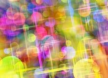 Fundos surreais sonhadores da cor Fotos de Stock Royalty Free