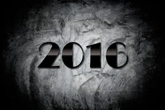 Fundos & texturas do ano novo feliz 2016 Fotos de Stock Royalty Free